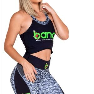Bang workout crop top